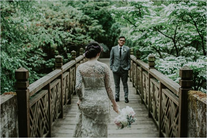 Amanda + Chris {Crystal Springs Rhododendron Garden  North Star Ballroom,  Portland}   Portland Wedding Photographer