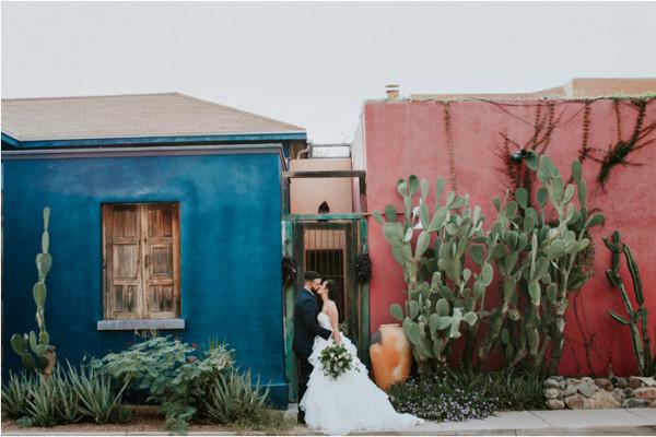 Eliza + Garrett {Tuscon, Arizona}