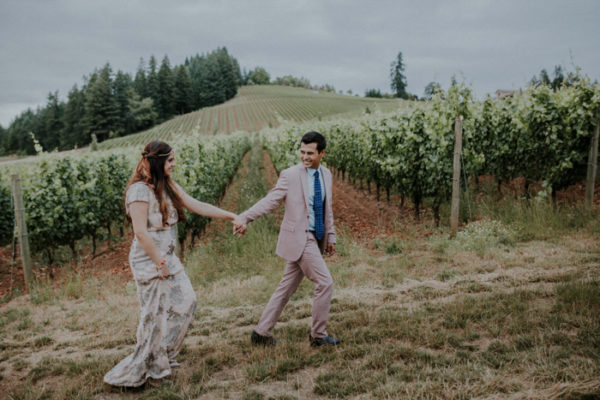 Donna + Bhavin {Saffron Fields Vineyard, Oregon} | Portland Wedding Photographer