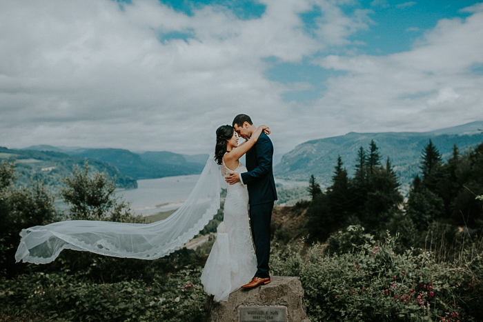 Meng Max Bridal Veil Lakes Oregon Portland Wedding Photographer