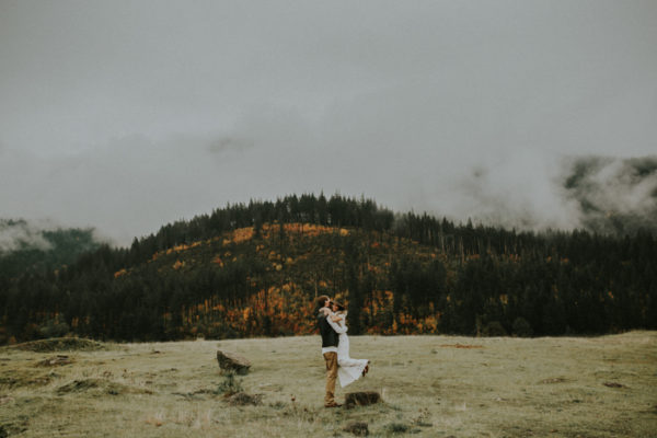 Laura + Brian Engaged {Government Cove} | Portland Wedding Photographer