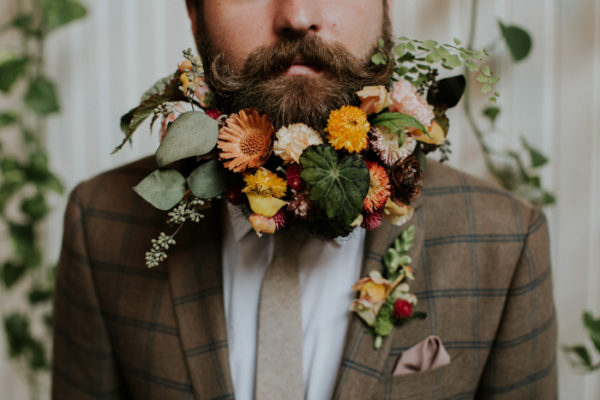 Wall Flowers Wedding Inspiration Shoot {The Evergreen} | Portland Wedding Photographer