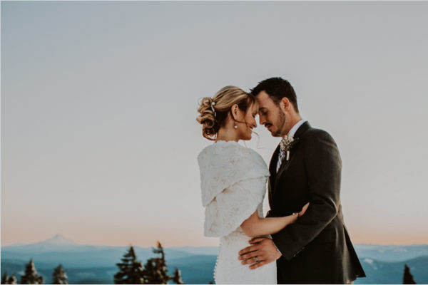 Sarah + Jon {Timberline Lodge, Mt. Hood Oregon} | Portland Wedding Photographer