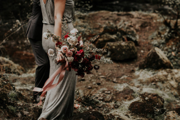 Sarah + Jon {Wahclella Falls Anniversary Photoshoot} | Oregon Elopement Photographer